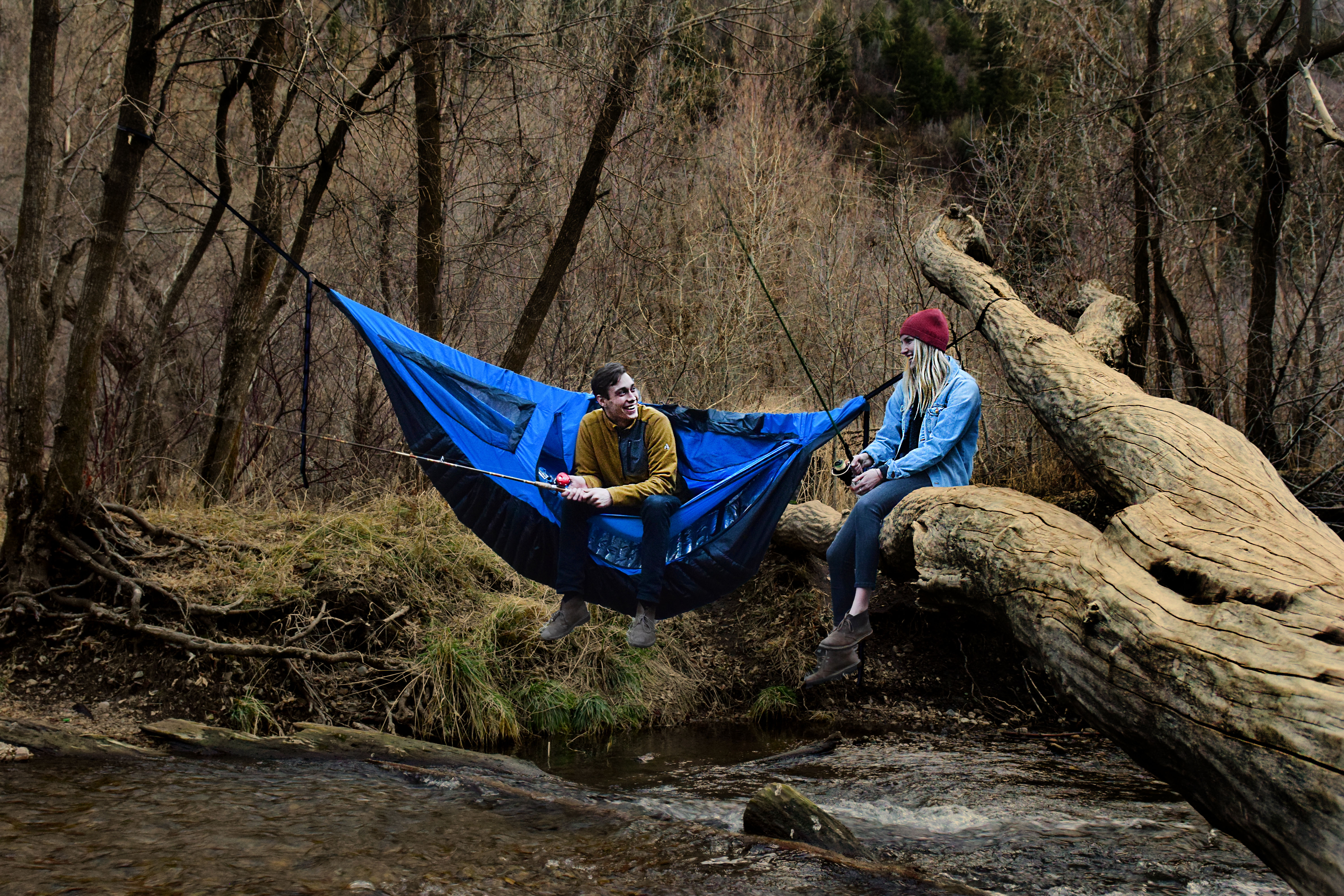 guide ultimate with gear a hang camp camping to pack cold how weather hammock sleep