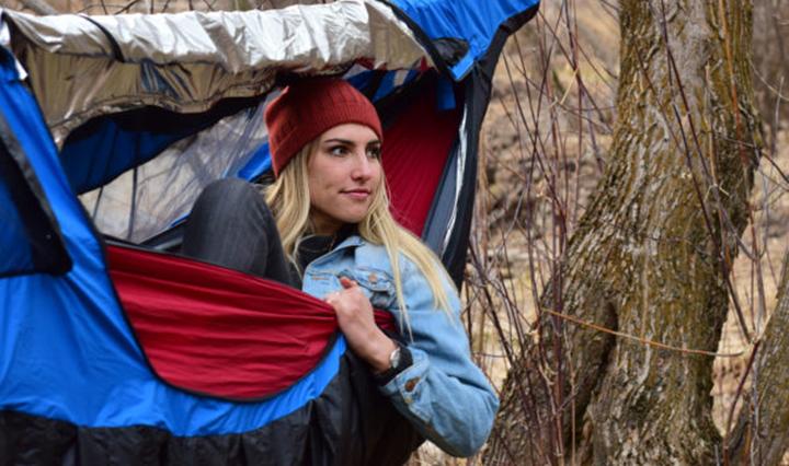 cold weather hammock