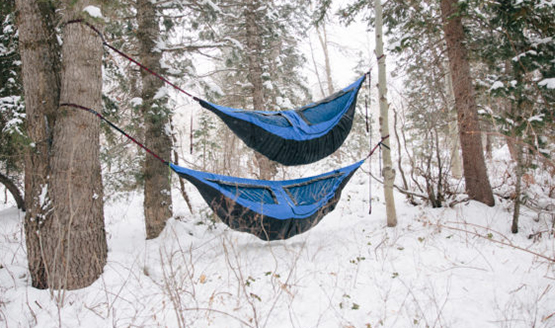 The Shel Hammock Tent - Cold Weather